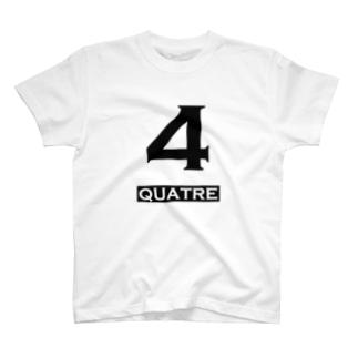 ナンバー4 T-shirts