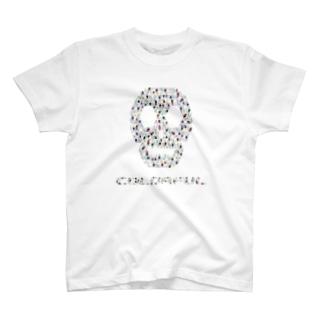 COLORFUL SUKLL T-shirts
