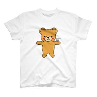 べいびーbear (クマちゃん) T-shirts