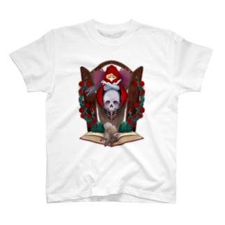 赤を被った森の少女 T-shirts