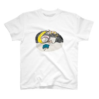 ねことのよる T-shirts