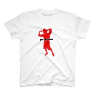 横切りPUMPMAN T-shirts