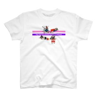 パグ-pug-ぱぐ パグヒーロー大集合 Tシャツ T-shirts