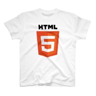 HTML5 Original Logo T-shirts
