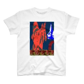 コーヒー農家 T-shirts