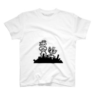 仲良しロボット T-shirts