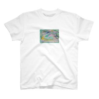 おじーのちゅるみチアフル1 T-shirts