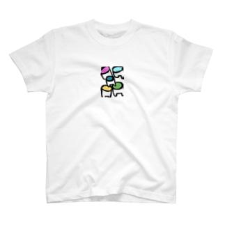 ハイヤー T-shirts
