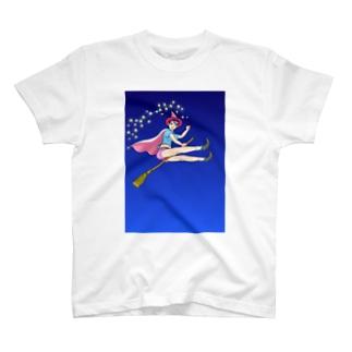 HAPPY魔女・宝来なつめ001 T-shirts