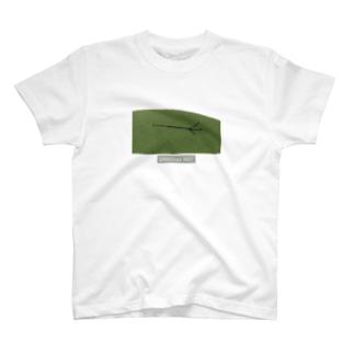 マイクスタンドのマイキー 《芝生ごろん》 T-shirts