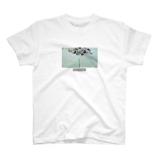 マイクスタンドのマイキー 《風船》 T-shirts