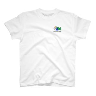 さかなロゴ ぼうしくん T-shirts