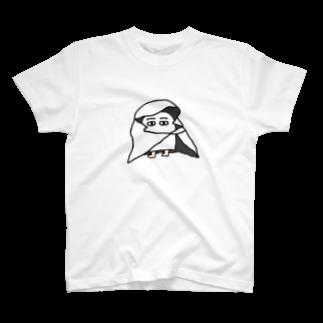 メジェドのメジェド(布) T-shirts