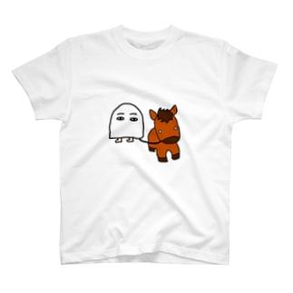 メジェド(馬) T-shirts