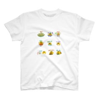 バリエ竹内ケザドリ T-shirts