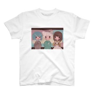 けもちゃんず T-shirts
