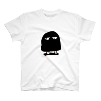 メジェドのメジェド(黒) T-shirts