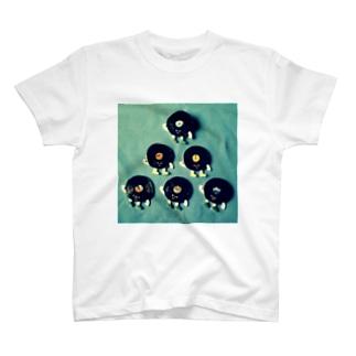 レコードくんたち T-shirts