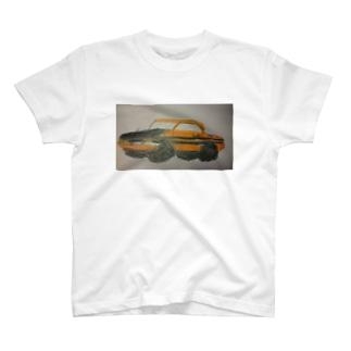 ぼくが描いたベレットGT-R T-shirts