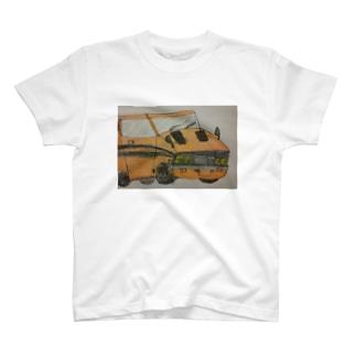 ぼくが描いたギャランGTO T-shirts