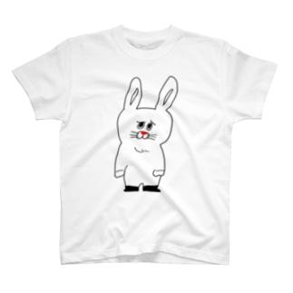 うったえるウサギ T-shirts
