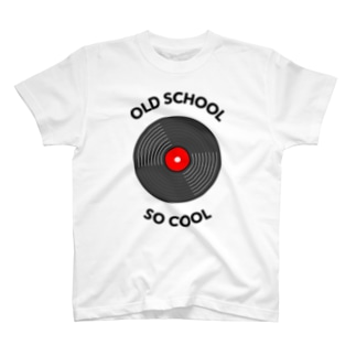 OLD SCHOOL, SO COOL T-shirts