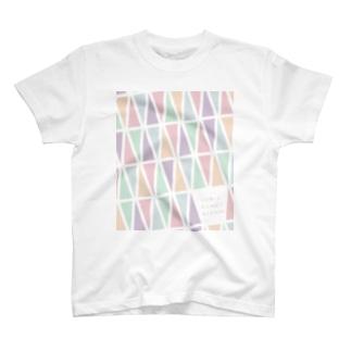TDS モノグラムパステル ご祝儀 T-shirts