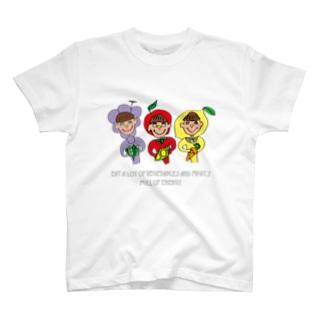 ふじフルーツ/Fuji Fruit T-shirts