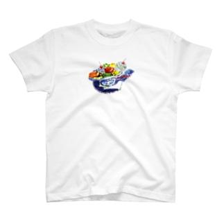 あらあら プリン・ア・ラ・モード T-shirts