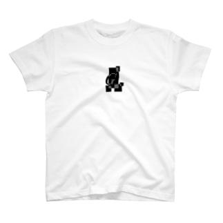 シンプルデザインアルファベットGワンポイント T-shirts