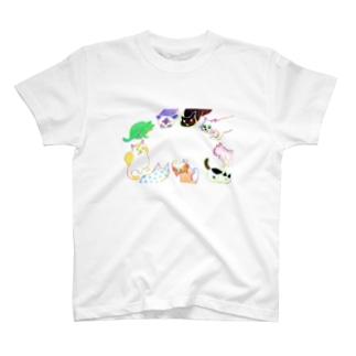 ねこ会議 T-shirts