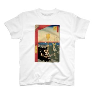 歌川Thomas T-shirts