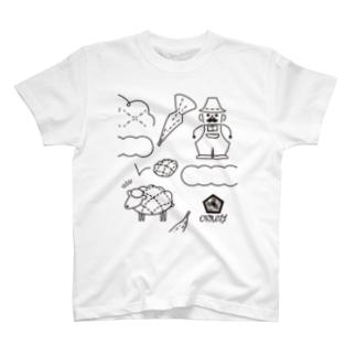 melon pan tree farm T-shirts