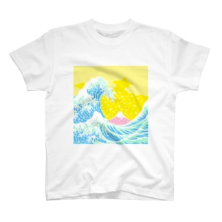 富嶽色景 T-shirts