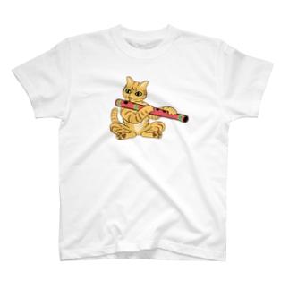 バンスリー猫 T-shirts