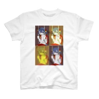蜈ャ蝨で驕翫s縺? T-shirts