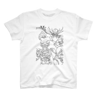 超輝神シャイニンガー T-shirts