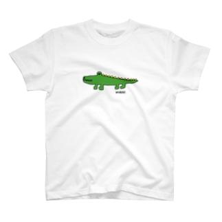 ワニG(下手な絵) T-shirts