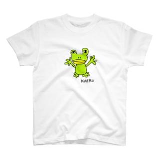 カエルG(下手な絵) T-shirts