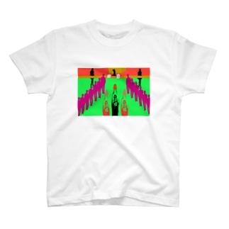 コミケの十戒と戦利品獲得 T-shirts