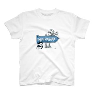 MINI BANANA ビーチ T-Shirt