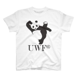 UWFパンダTシャツ T-shirts