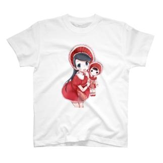 文化人形ちゃん T-shirts