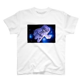猫の旅 【宇宙飛行】 T-shirts