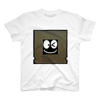 ぼくCPUくん(⦿v<)ノシ T-shirts