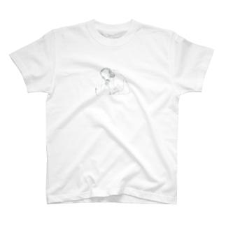 しろくまとおんなのこ T-shirts