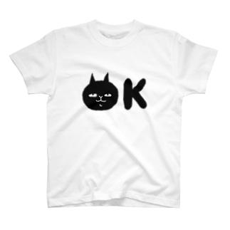 OKねこちゃん T-shirts