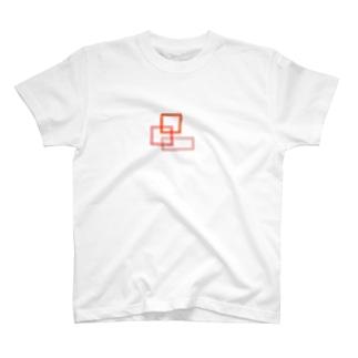 水彩の角 T-shirts