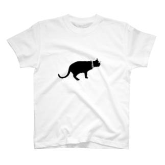 影猫ちゃん T-shirts
