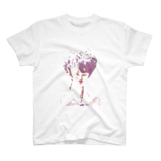 オシャレなハンサムボーイ T-shirts